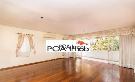 Apartamento Com 3 Dormitórios Para Alugar, 163 M² Por R$ 4.200,00/mês - Jardim Botânico - Porto Alegre/rs - Ap3106