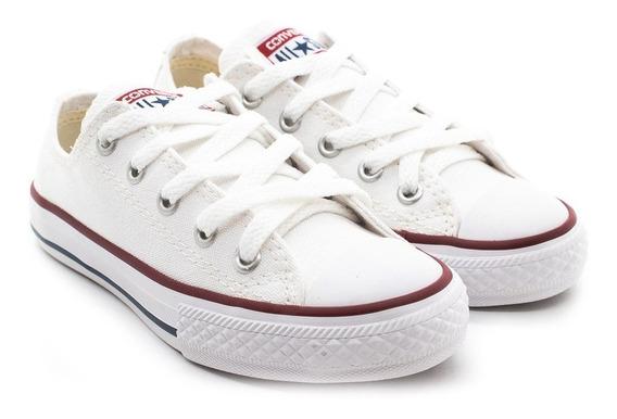 Tênis Converse Allstar Ck00020001 Branco/branco/marinho