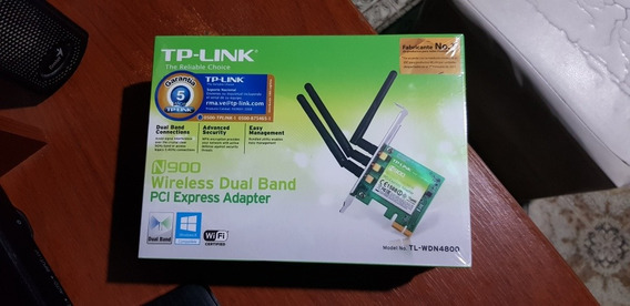 Tarjeta De Red Wdn4800 Pci Express 3 Antenas 450m Tp-link