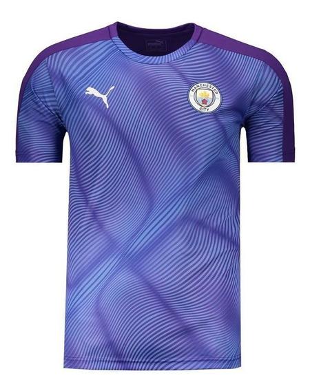 Camisa Puma Manchester City Stadium Roxa