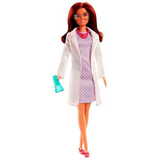 Barbie Cientista Original Mattel Barbie Profissoes