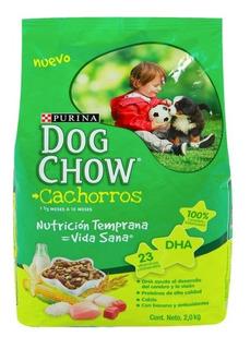 Concentrado Comida Para Cachorros Especial Dog Chow 2 Kg Hs