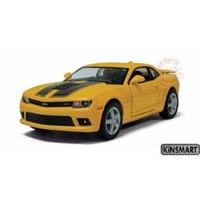 Chevrolet Camaro Ss 2014 1:38 Kinsmart Amarelo