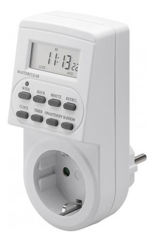 Timer Temporizador Digital Schuko Ahorro Energia Calefon