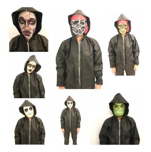 Disfraz Halloween Terror Y Fiesta Todos Los Talles!