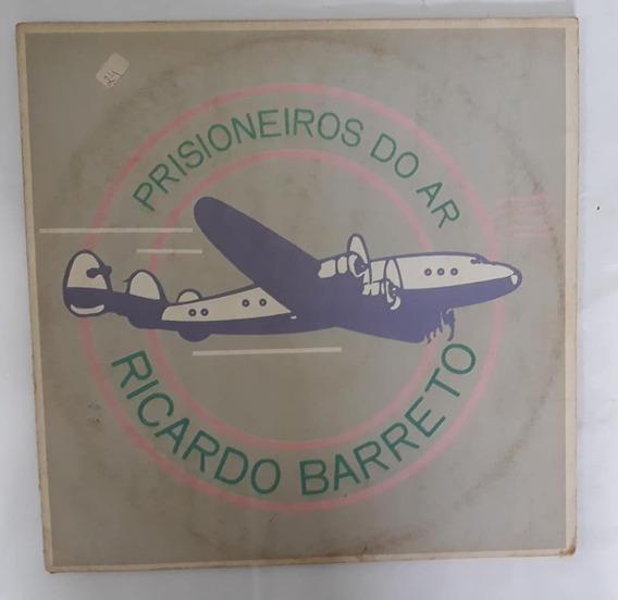 Lp Vinil - Ricardo Barreto - Prisioneiros Do Ar