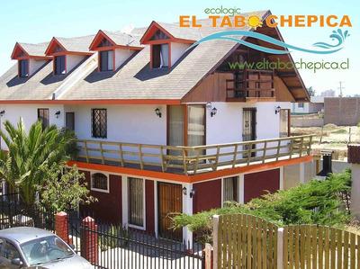 Casa Para 10 Personas En El Tabo A Una Cuadra De La Playa