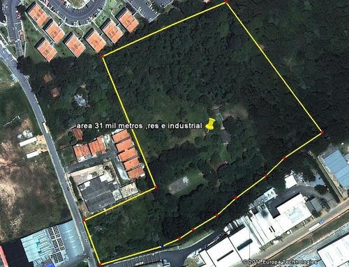 Imagem 1 de 11 de Área À Venda, 31320 M² Por R$ 33.675.000,00 - Jardim Caiapia - Cotia/sp - Ar0007
