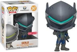 Funko Pop Overwatch Carbon Fiber Genji Target Exclusive