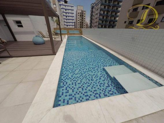 Apartamento Residencial À Venda, Aviação, Praia Grande. - Ap1095