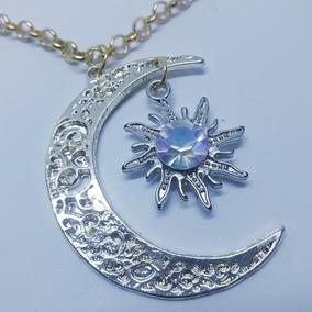 Colar Sou Luna Sol E Lua Soy Luna + Pulseira De Brinde