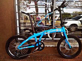 Bicicleta Folding Topmega Angelia Plegable Freno A Disco