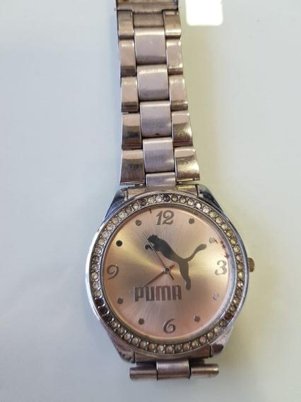 Relogio Feminino Puma Prata