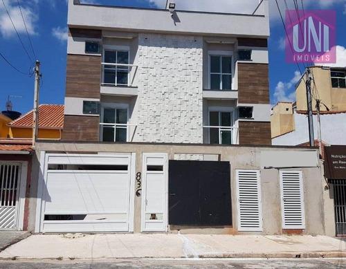 Cobertura Residencial À Venda, Vila Curuçá, Santo André - Co0616. - Co0616
