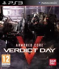 Armored Core Verdict Day Ps3 Mídia Física Lacrada Original