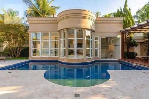 Casa Com 5 Dormitórios À Venda, 560 M² Por R$ 4.250.000 - Jardim Acapulco - Guarujá/sp - Ca0071