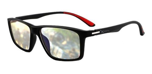 Imagen 1 de 3 de Lentes Xzeal Con Proteccion Blue Light Xzeal Xzagg50r Rojo
