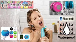 Parlante Bluetooth Para Ducha Y Camping+llamadas+sopapa