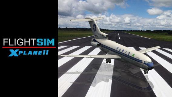 X-plane Flyjsim 727 Series + Civa (v2.1703.1050)