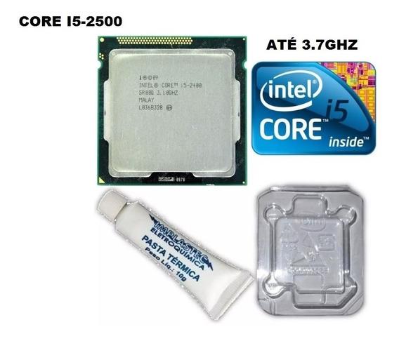 Processador Intel Core I5 2500 3.7 Ghz 1155 + Cooler Box
