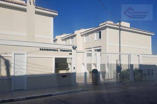 Sobrado Com 3 Dormitórios À Venda, 112 M² Por R$ 569.900,00 - Vila Santa Clara - São Paulo/sp - So1170