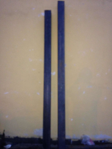 Tubo Estructural 2 Unds. 100 * 100 De 2,23 Mts Y 2,34 Mts