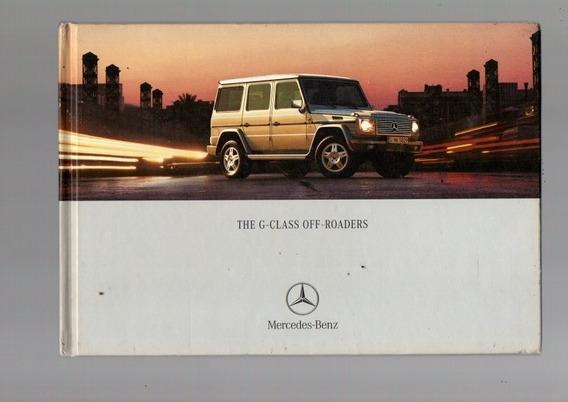 Livro The G-class Off-roaders Mercedes-benz,em Inglês