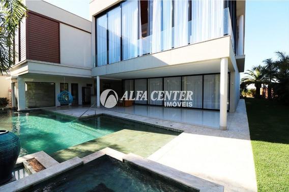 Sobrado Com 6 Dormitórios À Venda, 895 M² Por R$ 9.300.000,00 - Residencial Alphaville Flamboyant - Goiânia/go - So0213