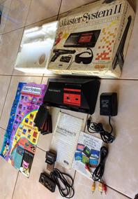 Master System Ii Completo Na Caixa Conservadíssimo