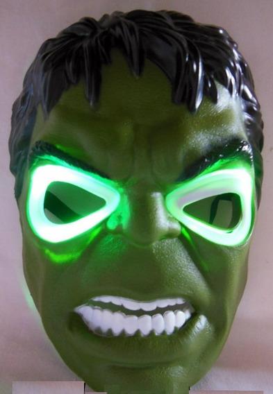 Mascara C/luz Hulk Iron Man Batman Capitan America Avengers