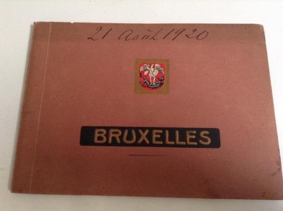 Album Tarjetas Postal Antiguos Paisajes De Bruselas Belgica