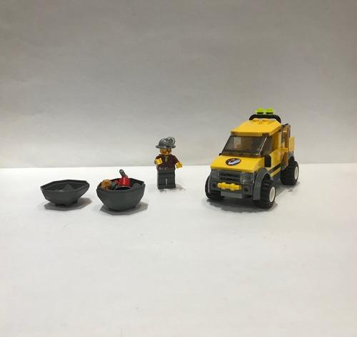 Lego City 4200 Camioneta 4x4 De Mineria Excelente Estado