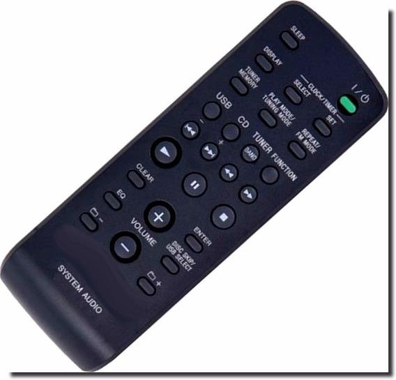 Controle Para Som Mini System Sony Varios Modelos