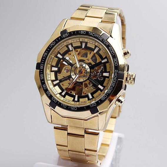 Relógio Masculino Forsining Winner Skelto Original Garantido