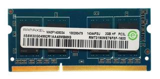 Memoria Ram Ddr3l 2gb Pc3l-12800s 1600mhz