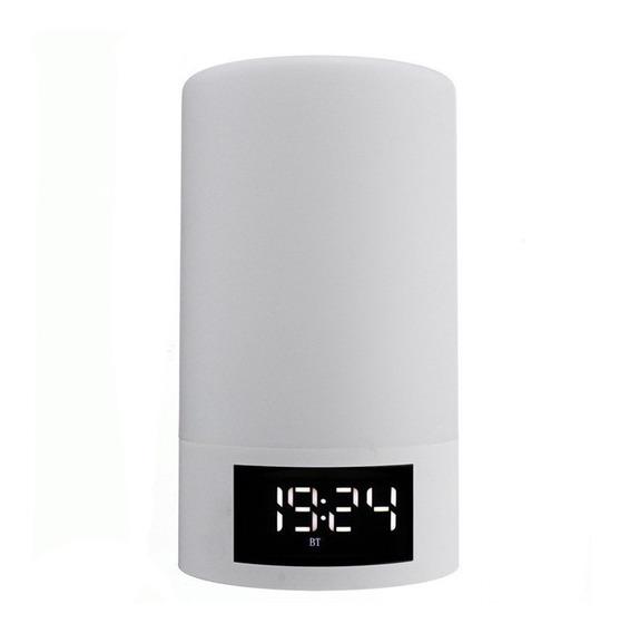 Leory M6 Casa Alarme Relógio Portátil Sem Fio Bluetooth Spea