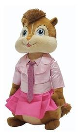 Pelúcia Alvin E Os Esquilos Brittany - Bbr Toys Antialérgico