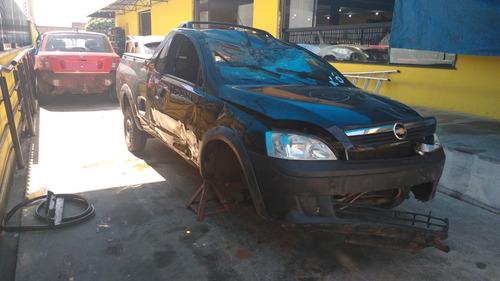 Sucata Chevrolet Montana 1.4 Ls Flex 2009 Retirada De Peças