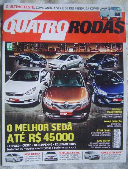 Revista 4 Rodas Especial - Edição 650 - O Melhor Sedã.