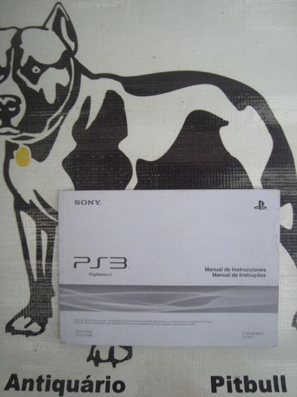 Manual Original Playstation 3