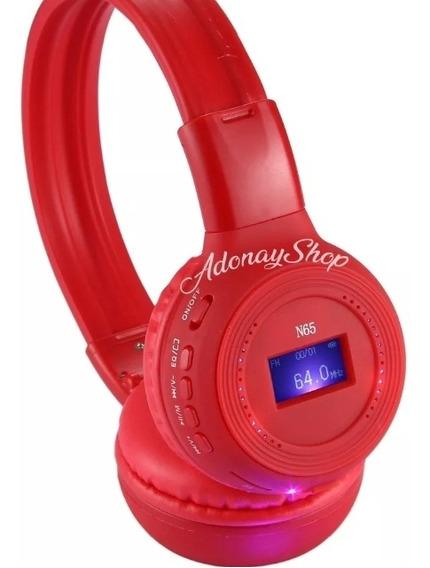Bellos Audífonos Inalambricos Bluetooth Sd Mp3 Bs-65 Oferta!