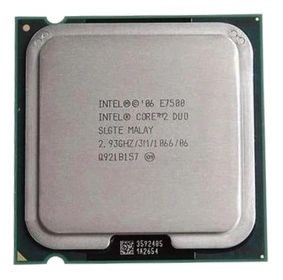 Processador Core 2 Duo E7500 2.93ghz 1066mhz 3mb Lga775
