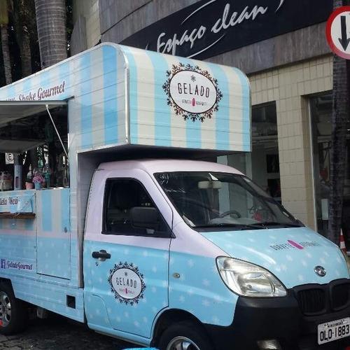 Food Truck Hr Kia Bongo (montagem Sem O Veículo)