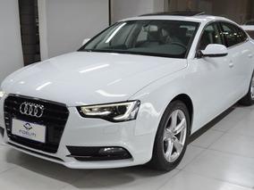Audi A5 Ambiente 2.0tfsi 2014 Branco Gasolina