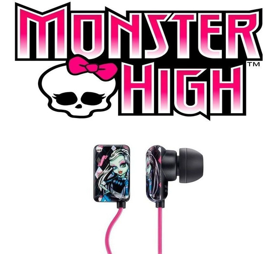 Fones De Ouvido Monster High P2 Ph105