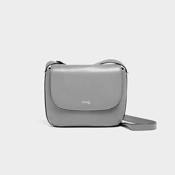 Bolsa By The Seine Crossover Bag Lipault Magnetic Grey