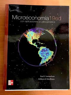 Libro De Microeconomía Samuelson Nordhaus 19 Edición Nuevo