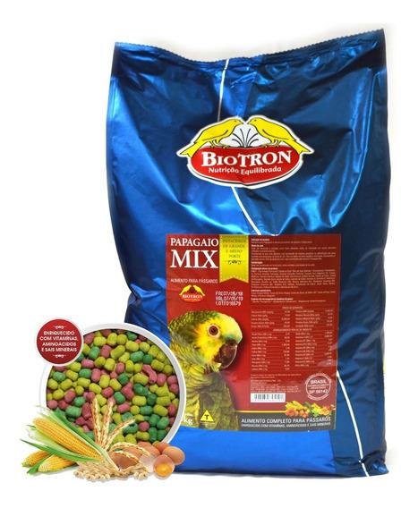 Papagaio Mix 5kg - Biotron - Ração Extrusada Para Papagaios