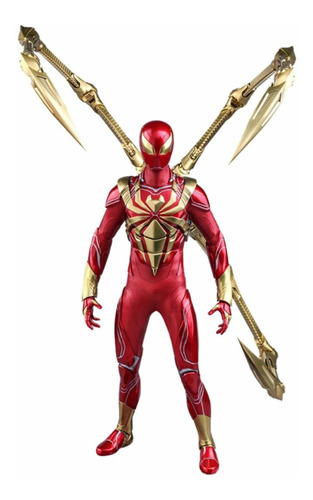 Hot Toys Iron Spider Armor Spiderman Videogame Nuevo 1/6