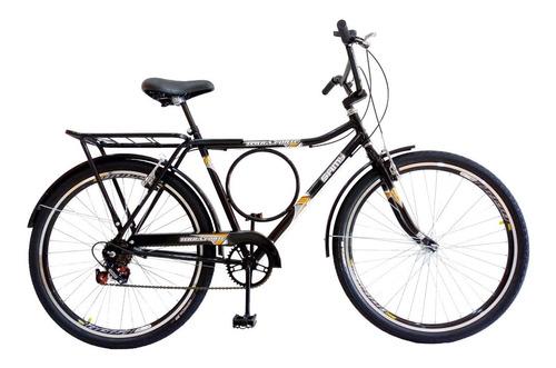 Imagem 1 de 8 de Bicicleta Barra Forte Samy C/ 6 Marchas Cubo C/ Rolamento